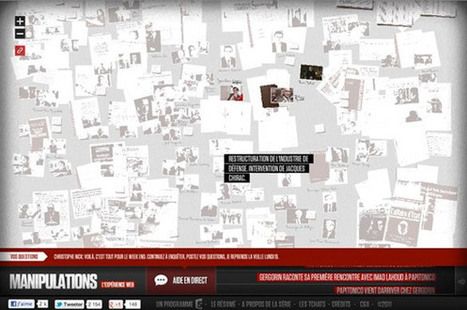 Quelle interface pour votre web-documentaire ? | Bidouille,  jeux et cartographie | Scoop.it