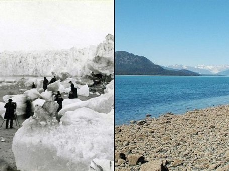 SHOCKING Before And After Pictures Of How Climate Change Is Destroying The Earth | Everything from Social Media to F1 to Photography to Anything Interesting. | Scoop.it