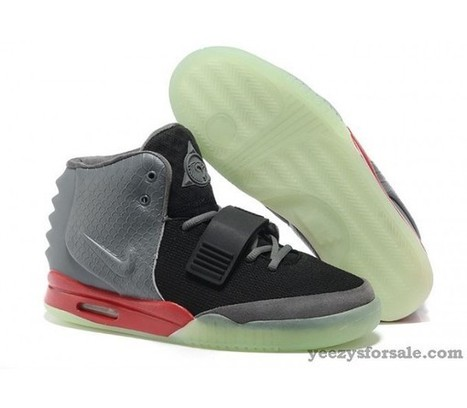 Nike Air Yeezy 2 Black/Cool Grey-Red [Air-Yeezy-2-09] - $89.99 : | Cheap air yeezy for sale for free shipping | Scoop.it