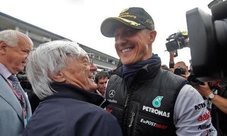 Bernie Ecclestone expects comatose Michael Schumacher to wake up - AutoWeek | F1 news 2014 | Scoop.it