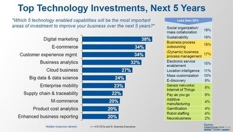 Où vont les budgets de la transformation digitale ? | Entreprise et Stratégie Digitale | Scoop.it