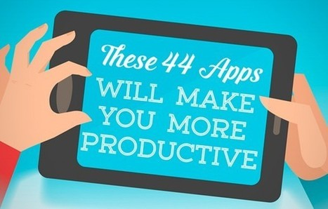 44 Apps That Turn Your Smartphone Into a Productivity Powerhouse (Infographic) | Virtual learning community or Educational virtual community | Scoop.it