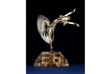Art Deco statue that inspired Baz Luhrmann's Gatsby to sell at Bonhams - Art Daily - Art Daily   Vintage and Retro Style   Scoop.it