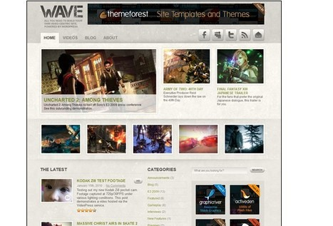 15 Free WordPress Video Themes - @cssreflex | Digital-By-Design | Scoop.it