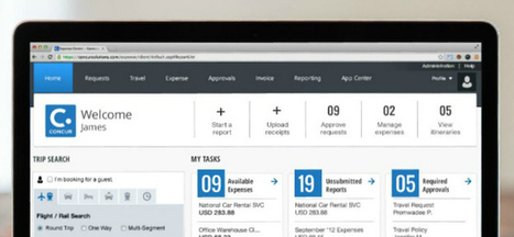 New Concur UX opens Gateway to easier spend management | Concur Around The Globe | Scoop.it