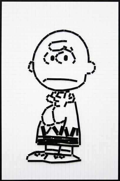 LEGO Charlie Brown Line Art - LEGO Peanuts | Andertoons Cartoon Blog | Machinimania | Scoop.it