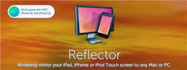Reflector: Op projectiescherm/digibord tonen wat je op iPad doet. | Nieuwsbrief H. van Schie | Scoop.it