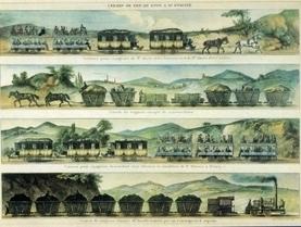 Le train en France depuis 1827 - Une chronologie illustrée de la SNCF | Enseigner l'Histoire-Géographie | Scoop.it