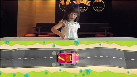 La tecnología NFC convierte las mesas de McDonald's en circuitos de carreras | Tips&Tricks | Scoop.it