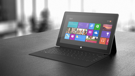 Microsoft admits only half of 32GB Surface RT storage is usable | School Leaders on iPads & Tablets | Scoop.it