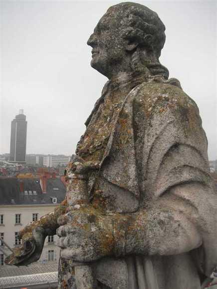 Photo du jour à Nantes : Louis XVI comme vous ne l'avez jamais vu | Sacrés Ancêtres, le mag | Scoop.it
