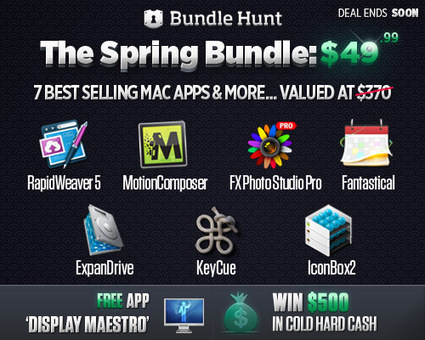 BundleHunt Productivity Mac OS X Applications Bundle worth over $363 for $49.99 | Design Resources | Scoop.it