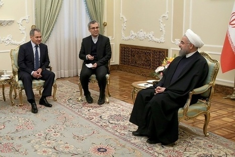Russia's defence minister on surprise visit to Iran | Arts and Poetry | Scoop.it