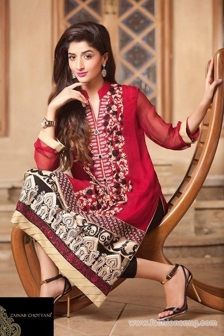 Zainab Chottani Party Wear Dresses 2014 In Stores | Fashion Blog | Scoop.it