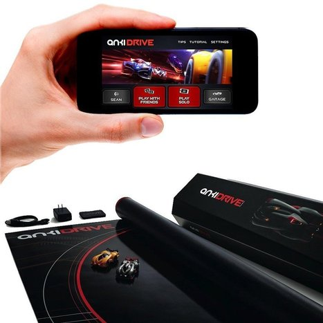 Anki DRIVE Starter Kit Smart Robot Car Racing Game Toy With Advanced Robotics and Artificial Intelligence Technologies | Kid-FreeLiving.Com Kids Toys and Games | What's Interesting and Trending Around The Web, United States and The World | Scoop.it