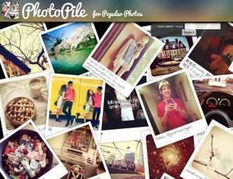 "PhotoPile - Visualiser les photos d'Instagram sous forme de vignettes | Veille Techno et Informatique ""AutreMent"" 