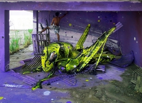 ARTIST: How Can Urban Trash Raise Awareness For Animal Welfare? | PASSIONS | Scoop.it