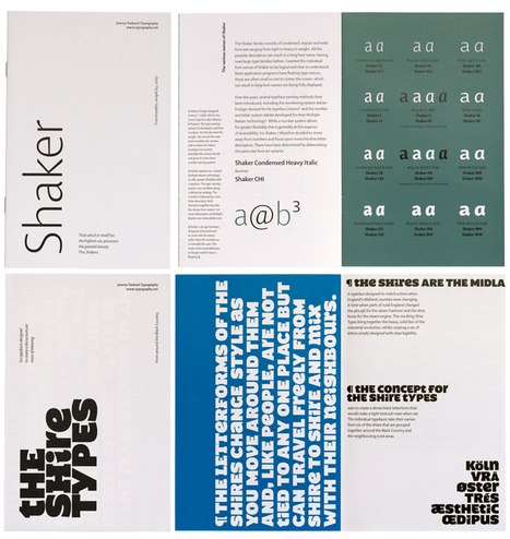 Jeremy Tankard Typography printed type samples 1998—2014 | Website Typography | Scoop.it