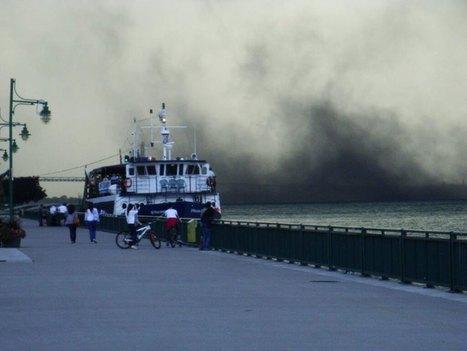Video shows petcoke dust cloud hitting Windsor'sriverfront #INM #DirtyOil #TarSands | Windsor, Ontario. Canada | Scoop.it
