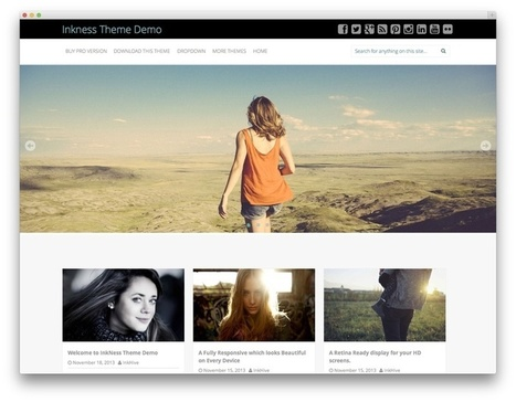 Best Free WordPress Bootstrap Themes 2014 | Bootstrap Themes | Scoop.it