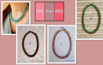 Διαγωνισμός στο facebook με δώρο ένα μοναδικό χειροποίητo κολιεδάκι. | Κέρδισέ το Εύκολα | Διαγωνισμοί με δώρα , Κέρδισέ Το Εύκολα | Scoop.it