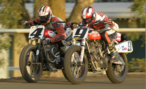 Carr And Springsteen To Have A Rematch At 2015 Sacramento Mile | California Flat Track Association (CFTA) | Scoop.it