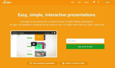 Swipe - simple, easy, elegant presentations. | Emerging Digital Workflows [ @zbutcher ] | Scoop.it