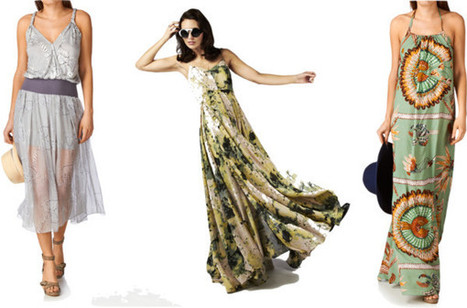 Maxi dress: Friend for life | Fashion Blog | Fashionizm, Culture, Travel | Scoop.it