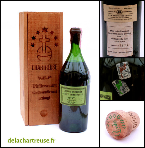Précisions sur la datation des vieilles VEP   liqueur Chartreuse   Scoop.it