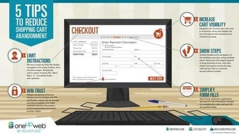 #infografía 5 tips evitar en abandono de carritos en tu tienda online | infografias - infographics | Scoop.it
