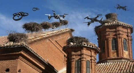 Los drones empiezan a hacer nidos en los tejados de las iglesias | Hacked Freedom | Scoop.it