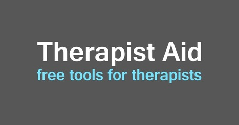 Therapist Aid: Therapy Worksheets, Tools, and Handouts | Psychology Tools for Self-Development | Scoop.it