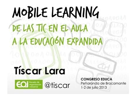 Mobile learning: de las #TIC en el aula a la #e... | TIC-i-TAC-a | Scoop.it