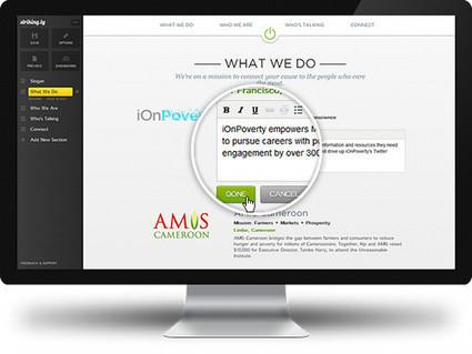 5 services en ligne pour créer rapidement une page Web | netnavig | Scoop.it