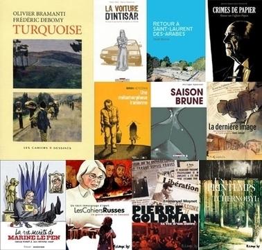 Les 11 albums en Lice pour le Prix France Info...   Lis Tes Ratures !   Scoop.it