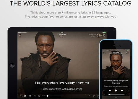 ELL Teachers & Students Will Love MusiXmatch – It Provides Karaoke-Style Lyrics To Most YouTube Music Videos | Technology and language learning | Scoop.it