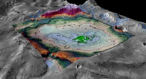Image of the Day: The Last Habitable Ancient Lake on Mars?   Geology   Scoop.it