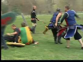 LARP group battles at Deming Park - WTHI | LARP | Scoop.it