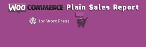 CBX Woo Sales Report | Wordpress | Scoop.it