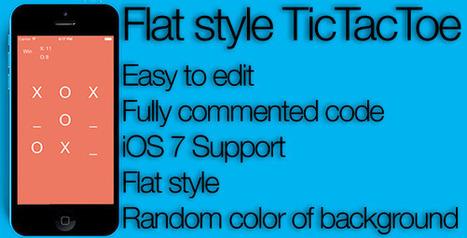 Flat Tic Tac Toe (Games) | Tic | Scoop.it