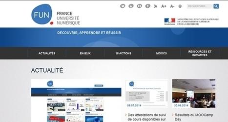 MOOC : le ministère veut donner les clés de FUN | E-pedagogie, apprentissages en numérique | Scoop.it