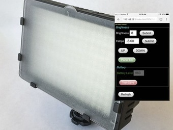 LED Light Panel Rebuild: Super-Dimming and Remote Control | Open Source Hardware News | Scoop.it
