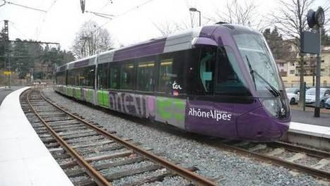 LYon-Economie.fr: Ouest lyonnais, les tram-trains arriveront en septembre | LYFtv - Lyon | Scoop.it