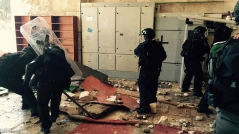 Palestinian rioters attack police on Temple Mount | Jewish Education Around the World | Scoop.it