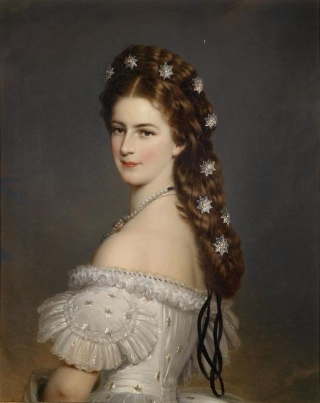 Arte XIX: Tendencias en la moda que son eternas: joyas en el cabello   El Arte del siglo XIX   Scoop.it