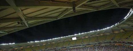 :.: Três estádios correm risco de apagão - Jornal Record :.: | Mundial de Futebol 2014 | Scoop.it