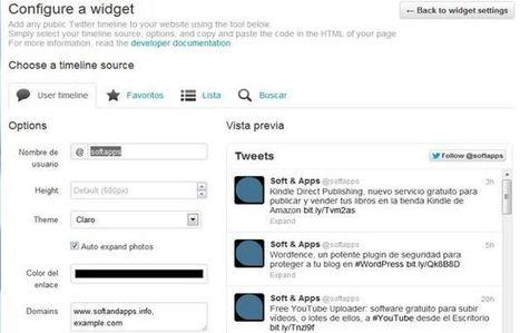 Nuevo widget de Twitter para sitios web, ahora interactivo | Herramientas digitales | Scoop.it
