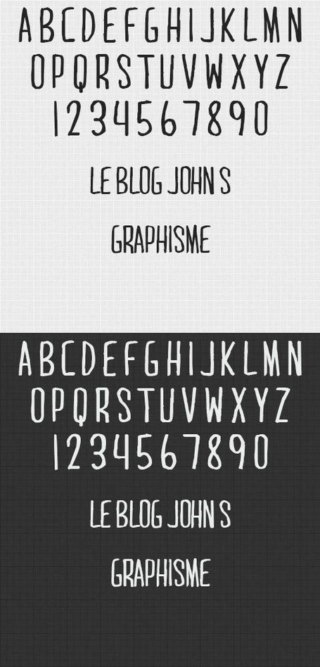 Gratuit – 10 typographies manuscrites pour graphistes | Mnemosia: Graphics, Web, Social Media | Scoop.it
