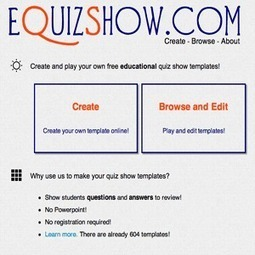EQuizShow: Create A Jeopardy-like Quiz Show On Your Classroom | Technology Resources for K-12 Education | Scoop.it
