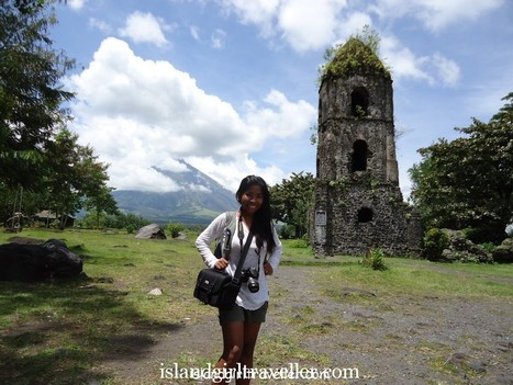 The Ruins of Cagsawa Church, Albay   IslandGirlTraveller   News from Travel   Scoop.it